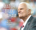 screen shot of 'Watch Billy Graham' online ad