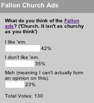 What do you think of the Fallon ads?