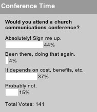 Would you attend a church communications conference?