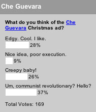 What do you think of the Che Guevara Christmas ad?