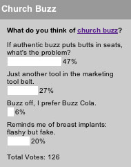 What do you think of church buzz?