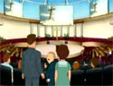 King of the Hill goes to church