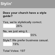 Does your church have a style guide?