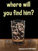 where will you find him?