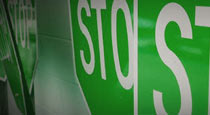 Green Stop Signs in Church Marketing