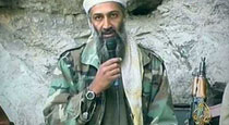Praying for Osama bin Laden