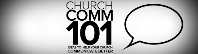 Church Comm 101: Support the New Book from Tim Schraeder