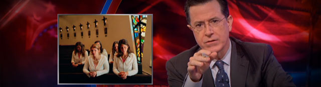 Stephen Colbert on Extreme Measures for Boosting Church Attendance