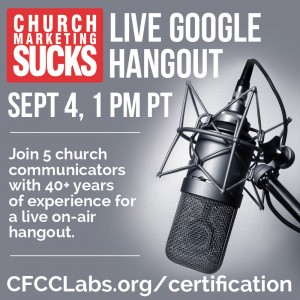 Live Google Hangout graphic