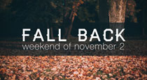 Fall Back: Help Your Church Remember Daylight Savings