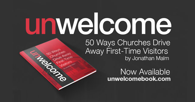 Unwelcome Now Available: Covering reserved seating and other sins.