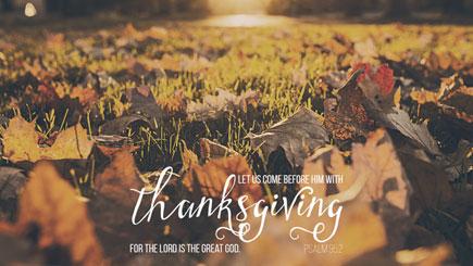 Thanksgiving Social Media Graphic