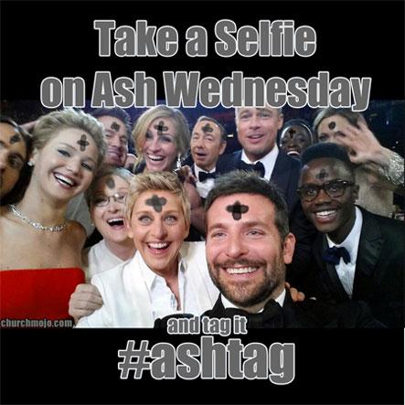 Ash Wednesday Selfie