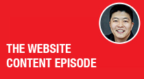 The Website Content Episode