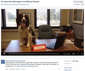 Popular social media posts: Dog