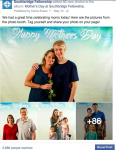 Popular social media posts: Mother's Day