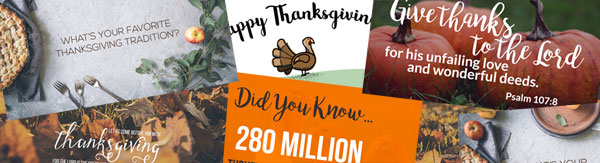 Thanksgiving social graphics bundle
