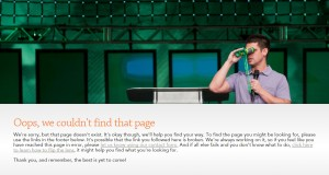 Elevation Church 404 error page