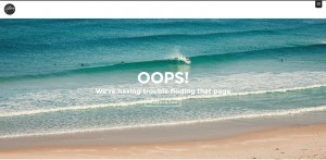Hillsong 404 error page