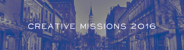 Apply Now for Creative Missions 2016 in Vermont