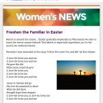 Women's monthly church email sample