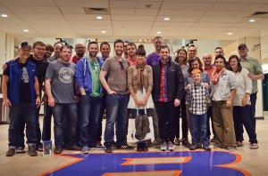 Group photo from Creative Missions 2015