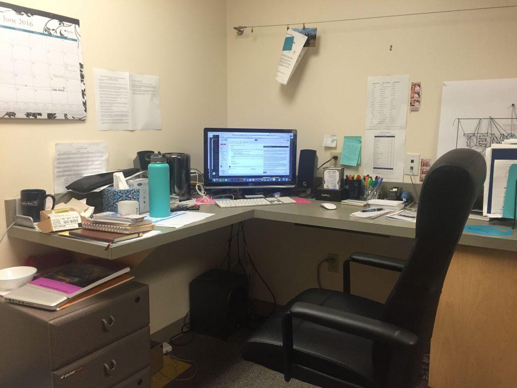 Bonni Mace's work space