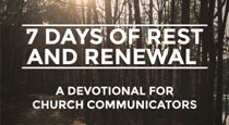 Free Devotional for Church Communicators