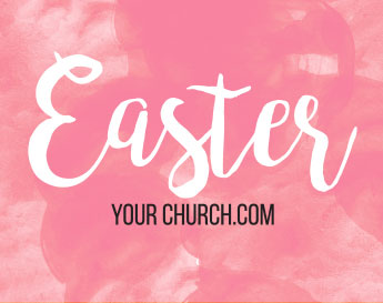 Easter branding templates: Easter YourChurch.com