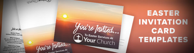 Help Your Church Invite Friends: Free Easter Invite Template