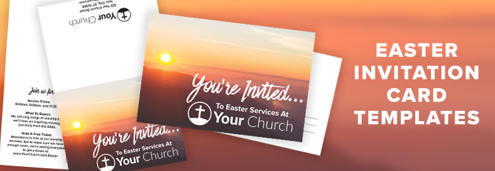 Help Your Church Invite Friends: Free Easter Invite Template - Long Room