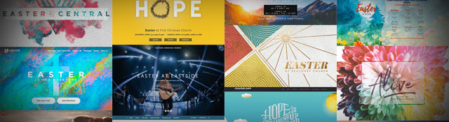 60 Church Websites for Easter