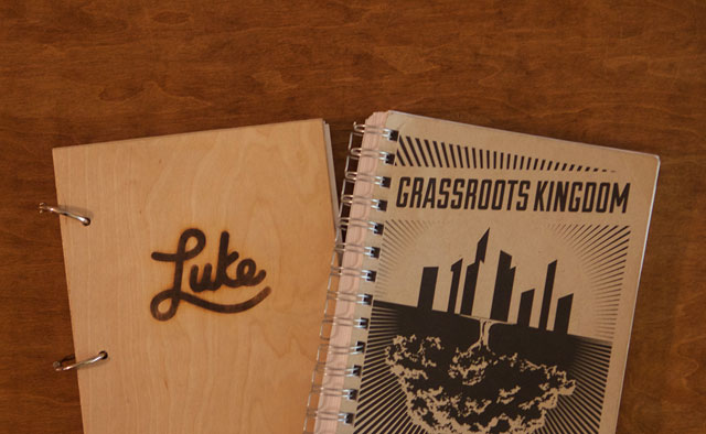 Luke & Grassroots Kingdom book cover design by Marcus Williamson