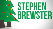 Christmas Greetings From Stephen Brewster