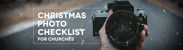 Free Christmas Photo Checklist for Churches