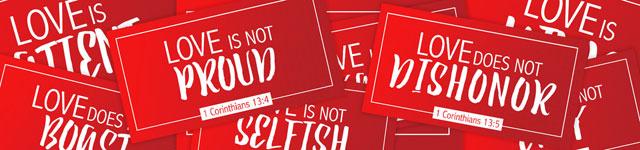 Valentine's Day social media graphics