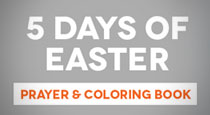 5 Days of Easter Prayer & Coloring Book