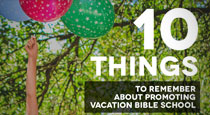 VBS: 10 Ways Your Church Can Promote Vacation Bible School