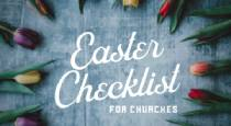 Easter Checklist for Churches
