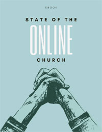 State of the Online Church ebook cover