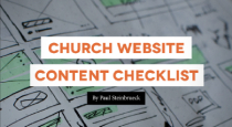 Church Website Content Checklist