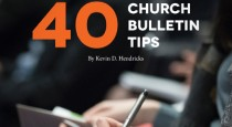 40 Church Bulletin Tips