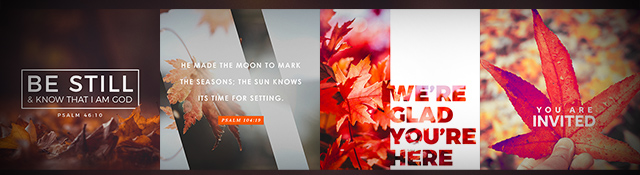 Free Fall Social Graphics for Your Church